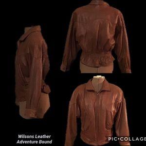 Wilsons Adventure Bound Leather Jacket